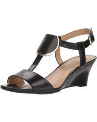 Naturalizer Talli Heeled Sandal - Black