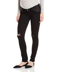 PAIGE - Maternity Verdugo Ultra Skinny Jeans - Lyst