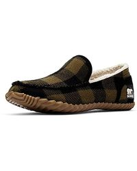 Sorel Dude Moc-toe Slippers - Black
