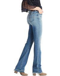 Lucky Brand Mid Rise Sweet Boot Jean In Brenda - Blue