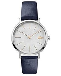 Lacoste S Analogue Classic Quartz Watch With Leather Strap 2001077 - Blue