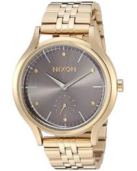 Nixon - 'sala' Quartz Stainless Steel Casual Watch, Color:silver-toned (model: A9942702) - Lyst
