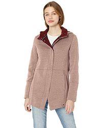 Hurley Winchester Hoodie Asymmetrical Full Zip Fleece - Multicolor