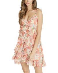 Buffalo David Bitton On The List V Neck Cami Dress - Pink