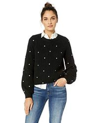 Lucky Brand - Polka Dot Sweater - Lyst
