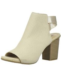 Kenneth Cole Reaction Fridah Fly Heels In Stone - Natural
