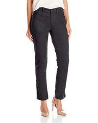 Lee Jeans Modern Series Midrise-fit Mikala Skinny Pant - Black