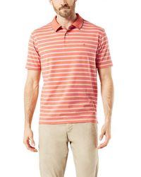 Dockers Short-sleeve Polo - Orange