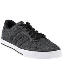 c170a6ea1ca Lyst - adidas Black   White Daily 9Tis Sneakers in Black for Men
