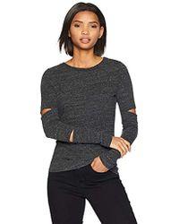 n:PHILANTHROPY - Long Sleeve Tee Shirt, Charcoal Theo X - Lyst