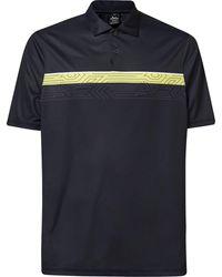 Oakley - Print Layer Stripe Polo Poloshirt - Lyst
