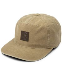 Volcom Old Mill Strapback Hat - Natural