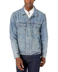 Hudson Jeans Mens Zip Front Denim Jacket