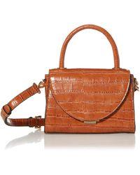 Steve Madden Lacie Top Handle Bag - Brown