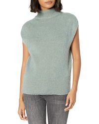 Emporio Armani Mohair Blend Tunic - Gray