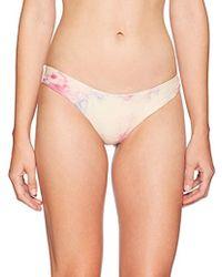 RVCA - Crystal Cheeky Bikini Bottom - Lyst