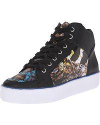 Nine West Verona Synthetic Fashion Sneaker - Black