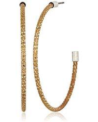 The Sak - Large Textured Hoop Earrings - Lyst