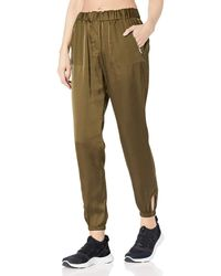 X By Gottex Soft Slouchy Pants - Green