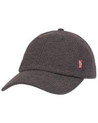 79e4de0c022 Levi s - Brushed Twill Baseball Dad Hat - Lyst