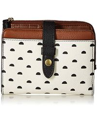 Fossil - Fiona Multifunction Tab Wallet - Lyst