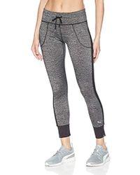 629a2604416028 PUMA - Explosive Heather 7/8 Tight Sweatpants - Lyst