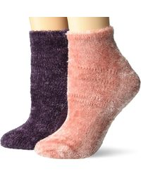 Dr. Scholls - American Lifestyle Collection Soothing Spa Low Cut Gripper Socks - Lyst