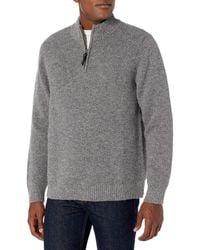 Pendleton Mens Shetland Half Zip Cardigan Sweater Cardigan Sweater
