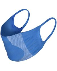 Hanes Seamless Face Mask Pack Of 6 - Blue