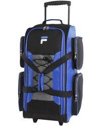 """Fila 26"""" Lightweight Rolling Duffel Bag - Bleu"""