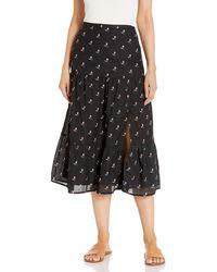 PAIGE Bestia Skirt - Black