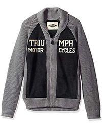 Lucky Brand Triumph Shawl Cardigan Sweater - Black