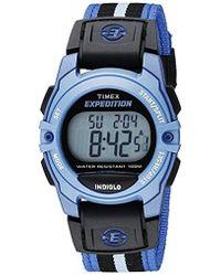 Timex - Unisex Expedition Classic Digital Chrono Alarm Timer Mid-size Watch - Lyst