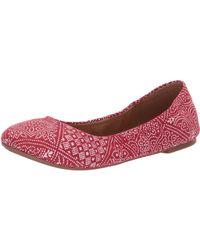 Lucky Brand - Emmie (platinum) Women's Flat Shoes - Lyst