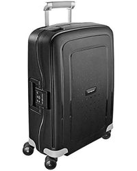 Samsonite S'cure Hardside Luggage With Double Spinner Wheels - Black