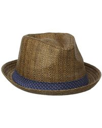 9c867493c Pattern Band Trilby - Brown