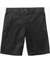 """RVCA Weekend 20"""" Stretch Shorts Black 36"""