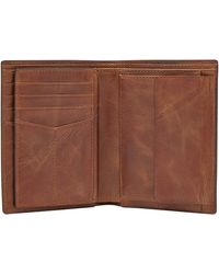 Fossil International Combination Wallet - Brown