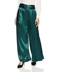 Finders Keepers - Songbird Wide Leg Belted Pant - Lyst
