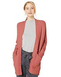 Daily Ritual - Amazon Brand - Cozy Boucle Coatigan Sweater - Lyst