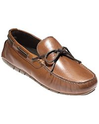 c438e6e67fe29 Cole Haan - Zerogrand Camp Moc Driver Driving Style Loafer - Lyst