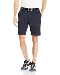 Amazon Essentials Slim-Fit Stretch Golf Short - Bleu