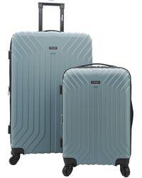 Wrangler Auburn Hills Luggage - Blue