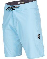 Volcom Lido Solid Mod Boardshort - Blue