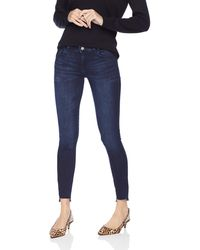 DL1961 Emma Instasculpt Low Rise Skinny Fit Jeans - Blue