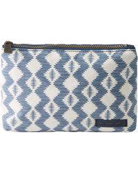 Pendleton Canopy Canvas Zip Pouch - Blue