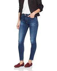 AG Jeans Farrah High-rise Skinny Ankle - Blue