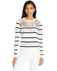 Desigual - Tricot 9 Flat Knitted Thin Gauge Pullover - Lyst