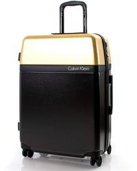 Calvin Klein Obsessed Hardside Spinner Luggage With Tsa Lock - Black