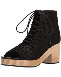 118976a737e9c2 Lyst - Circus By Sam Edelman York Cutout Zip-up Gladiator Bootie in ...